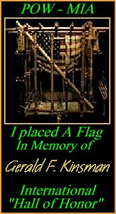 In Memory of Gerald F. Kinsman