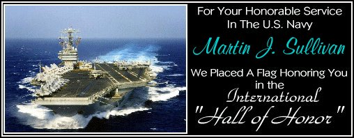 In Memory of Martin J. Sullivan